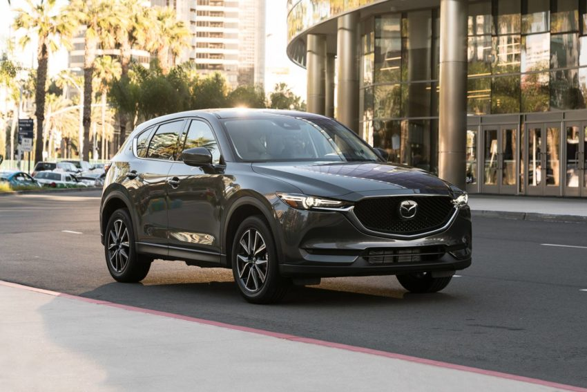 Mazda CX-5 Grand Touring in Machine Gray Metallic