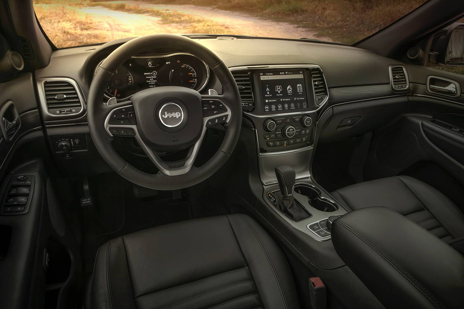 2019 Jeep Grand-Cherokee Interior