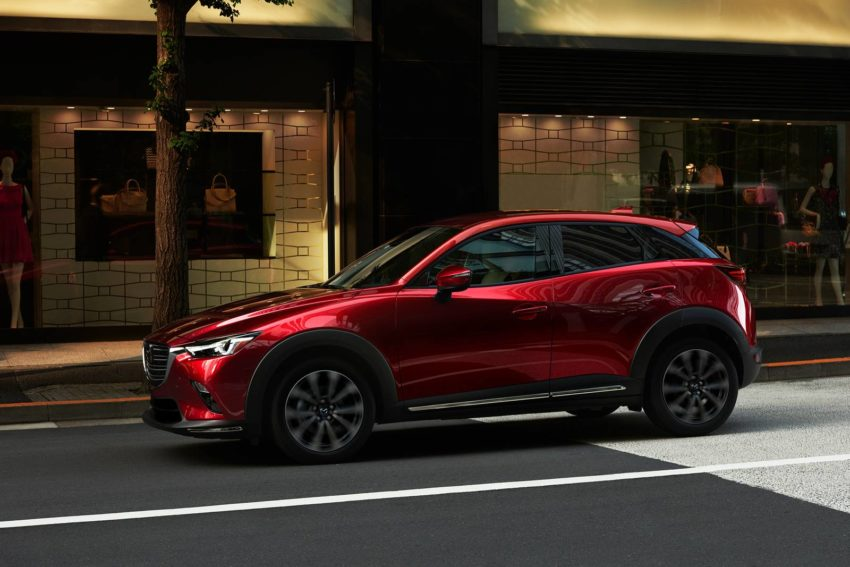 2019 Mazda CX-3 Grand Touring in Soul Red Crystal Metallic Color