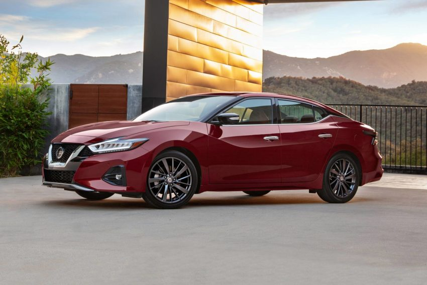 2019 Nissan Maxima Front End Design