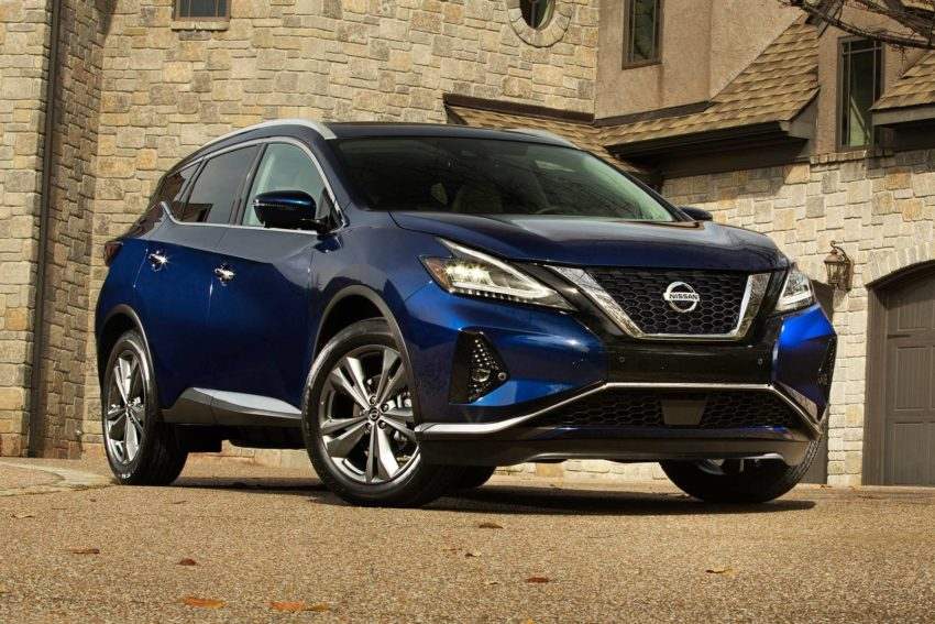 2019 Nissan Murano 4dr SUV Exterior