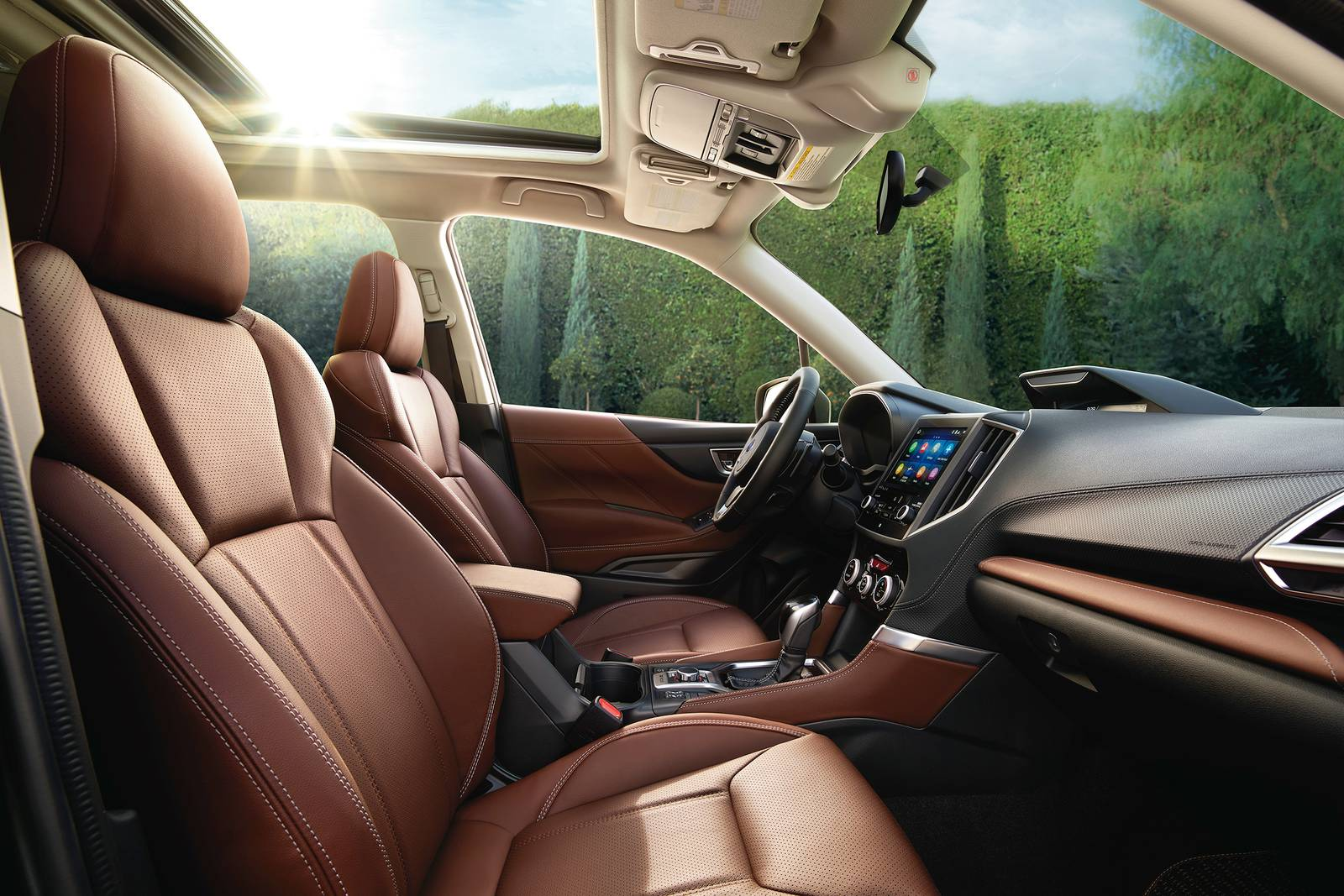 2019 Subaru Forester Touring Interior Features and Design