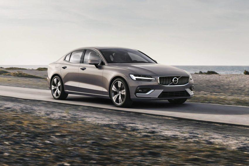 2019 Volvo S60 T6 Inscription in Pebble Grey Metallic