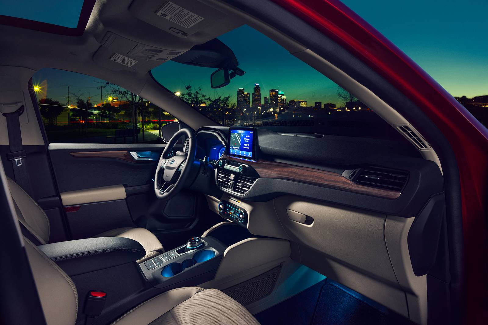 2020 Ford Escape Hybrid Interior